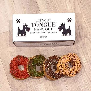 Droolicious Doggy Donuts 4 Pack Chicken