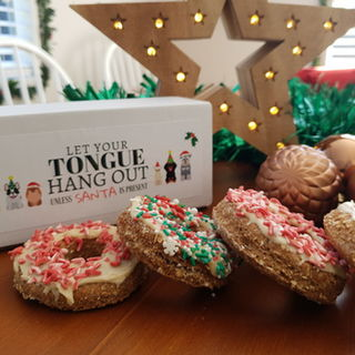 Christmas Donuts (4pack) beef