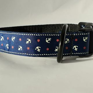 In The Navy Collar 25cm - 36cm